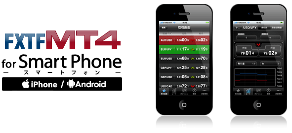 FXTF4 MT4 for SmartPhone
